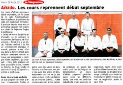 Article Telegramme mardi 28 aout 2012