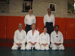 Quatre nouveaux gradés au Club Aïkido Ploemeur