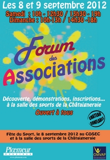 Fête du sport et Forum des associations