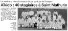 article presse 2 stage Jaff RAJI 8 et 9 mars 2003