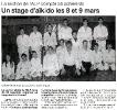 article presse preparation stage Jaff RAJI 8 et 9 mars 2003