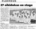 article presse stage Jaff RAJI 8 et 9 mars 2003