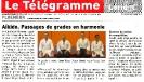 Article Télégramme Dimanche 7 juillet 2013